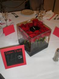 Red Roses Centerpieces Kim And Company