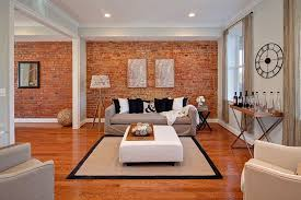 livingroom walls 100 brick wall living rooms that inspire your design creativity