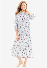 plus size sleepwear for roaman s