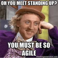 Agile Meme - continuous discussions c9d9 episode 26 recap agile in large