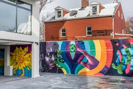 at astoria s graffiti house street art is both inspiration and the idea is for graffiti house to function as what aki development the firm behind the project is calling a rotating art gallery