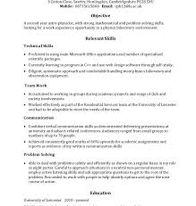 Relevant Skills On Resume Download It Skills Resume Haadyaooverbayresort Com