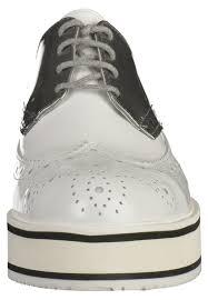 Billig Haus Kaufen Bronx Overknee Bronx Damen Schnürschuhe Schnürer White Silver