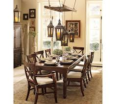 table dining room tables pottery barn tropical large dining room