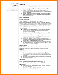 9 medical laboratory technologist resume sample new hope stream