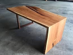 waterfall coffee table wood cherry waterfall coffee table tree purposed detroit michigan