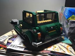 lego mini cooper the pc weenies making lego flexible with flexo