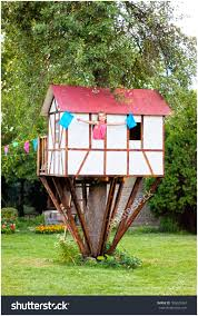 backyards wonderful cute small tree house for kids on backyard