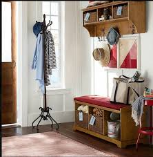 attractive entryway coat rack storage and rattan wicker baskets