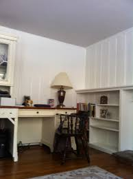 Painted Wall Paneling painting wood paneling