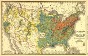 Population Map Of The United States by Historical Maps Of The United States And North America Vivid Maps
