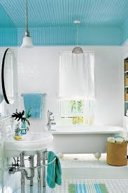 Teal Bathroom Pictures by Comfortable Guest Baths Southern Living