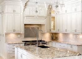 Distressed White Kitchen Hutch Awesome Antiqued Cabinets Have Image Of Antiquing Kitchen Cabinet