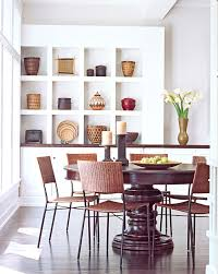 Woven Dining Chairs Dining Room Asian With Container Plants - Woven dining room chairs