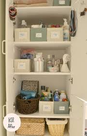 bathroom organizing ideas 18 best bathroom linen closet organizing ideas images on