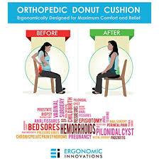 ergonomic innovations orthopedic donut hemorrhoid pillow u0026 seat