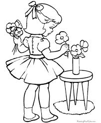 kindergarten valentine coloring 042