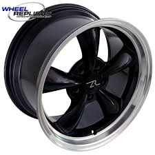 mustang replica wheels 17x9 black bullitt mustang replica wheel 94 04