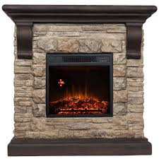 comfort glow qsf8212r yorkshire castle stone mantel with ir quartz