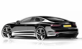 audi car audi a5 sportback design sketch render 03 jpg 1600 951
