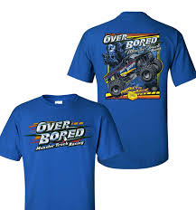 monster jam puff trucks over bored monster truck over bored t shirt and merchandise