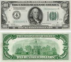 usa converting united states dollar bills travel stack