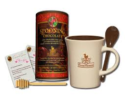 hot cocoa gift set win a cocoa canard spooning chocolate gift set