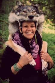 yellow eyed wolf headdress by naturepunk on deviantart