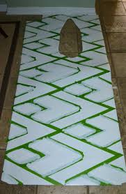Painted Linoleum Floor Home Improvement Just Something I Whipped Up