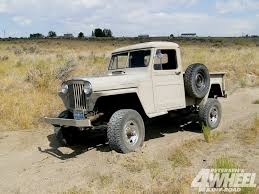 jeep willys truck lifted 1951 willy u0027s pickup truck honcho