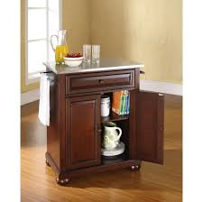 kitchen inspiring portable kitchen island design with storage and