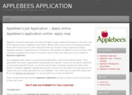 applebeesapplication org at wi applebee u0027s application apply