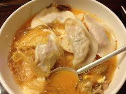 mul mandu guk dumpling soup korean food pinterest soups