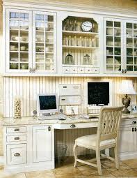 Kitchen Desk Furniture The Decorated House White Kitchen Inspiration 3 Home Office