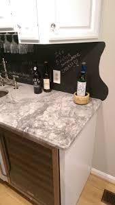 Chalkboard Backsplash by Wet Bar Backsplash Fufarmhouse