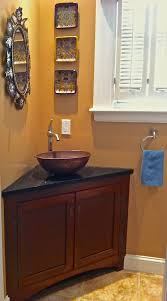 Cherry Vanity Corner Vanity Sink Spaces Transitional With Cherry Vanity Corner