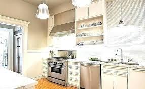 Kitchen Backsplash Brick White Brick Backsplash In Kitchen Madebyni Co
