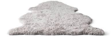 sheepskin rugs u0026 cow hide rugs ikea