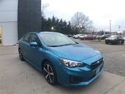 2017 subaru impreza sedan blue used 2017 subaru impreza 2 0i sport sedan for sale on long island in