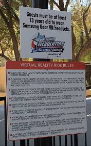 How Many Rides Does Six Flags Have More Than 7 Million People Will See Vr At Six Flags In 2016