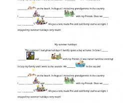 My Family Writing Practice Lesson Plan Education 103 Free Summer Activities Worksheets And Creative Lesson Ideas