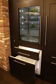 kitchen extraordinary image of modern double glass door ge