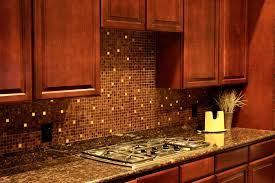 tiles backsplash seashell backsplash wood stain cabinets white
