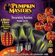 pumpkin carving kits pumpkin masters decorating punches pumpkin carving kit