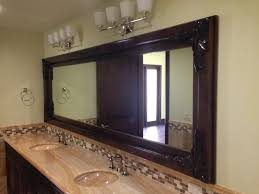 wood framed custom wood framed mirrors patriot glass and mirror san diego ca