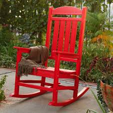 Adirondack Chairs Plastic Polywood Presidential Recycled Plastic Rocking Chair Hayneedle