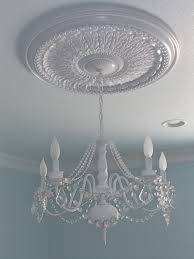 Light Fixture Ceiling Medallion by Ceiling Medallion W Refurbished Chandelier Kids Rooms Bath