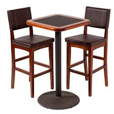 small high top table space saving bistro design with small space high top kitchen tables