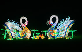 magical winter lights lone star park dallas holiday light shows dallas observer