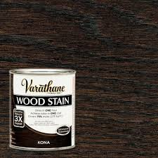varathane 1 qt kona premium wood stain 266161 the home depot